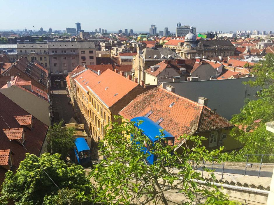 Catherine's Square Zagreb Croatia
