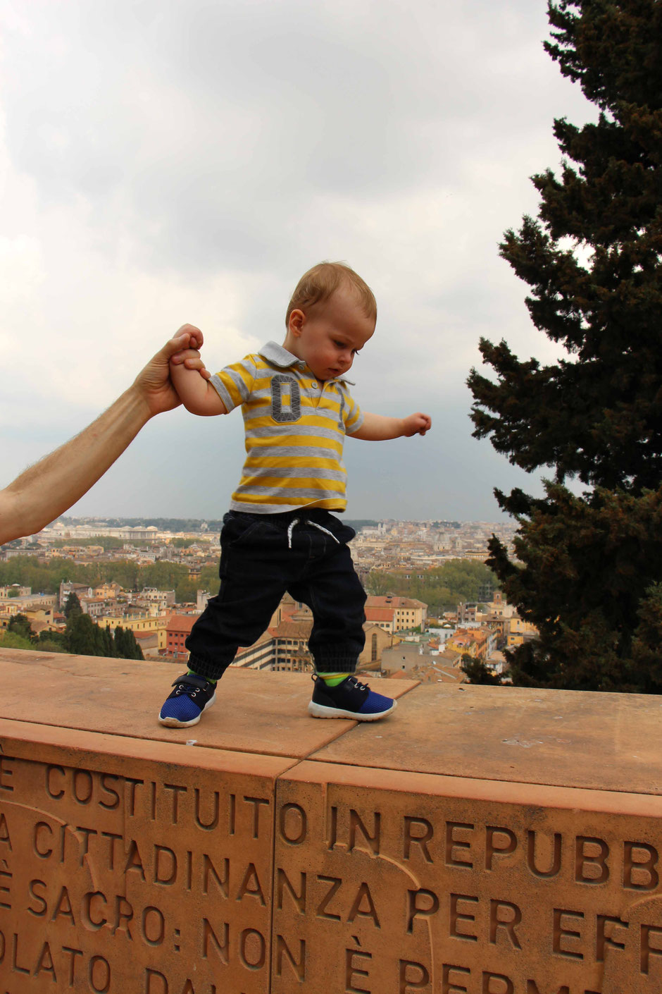 Janiculum Hill Rome with kids