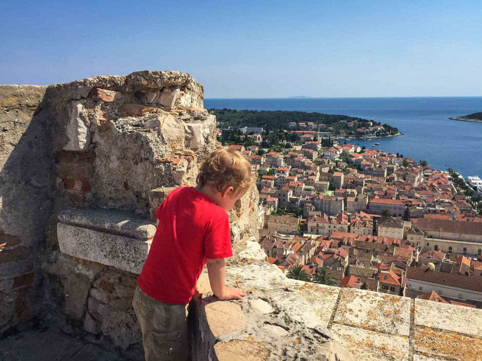 Views from the Fortress of Hvar, Croatia
