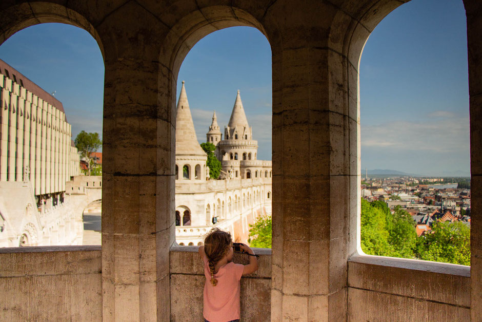 Fisherman's Bastion Budapest with kids