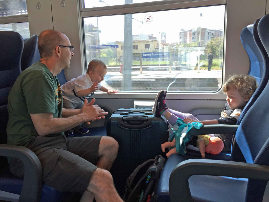 Train in Europe from Rome to Campiglia Marittima