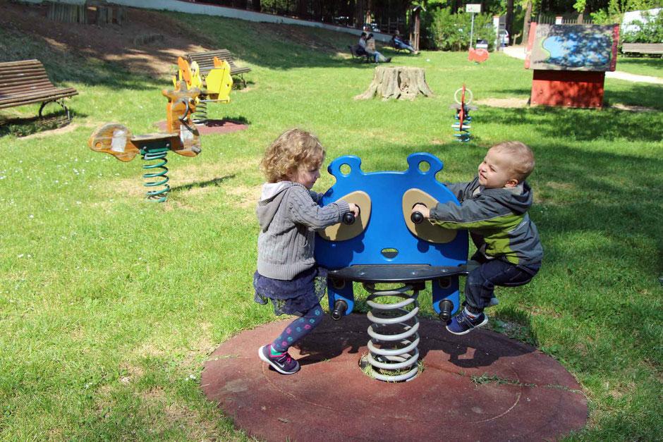 Giardino Carraia playground in Florence Italy