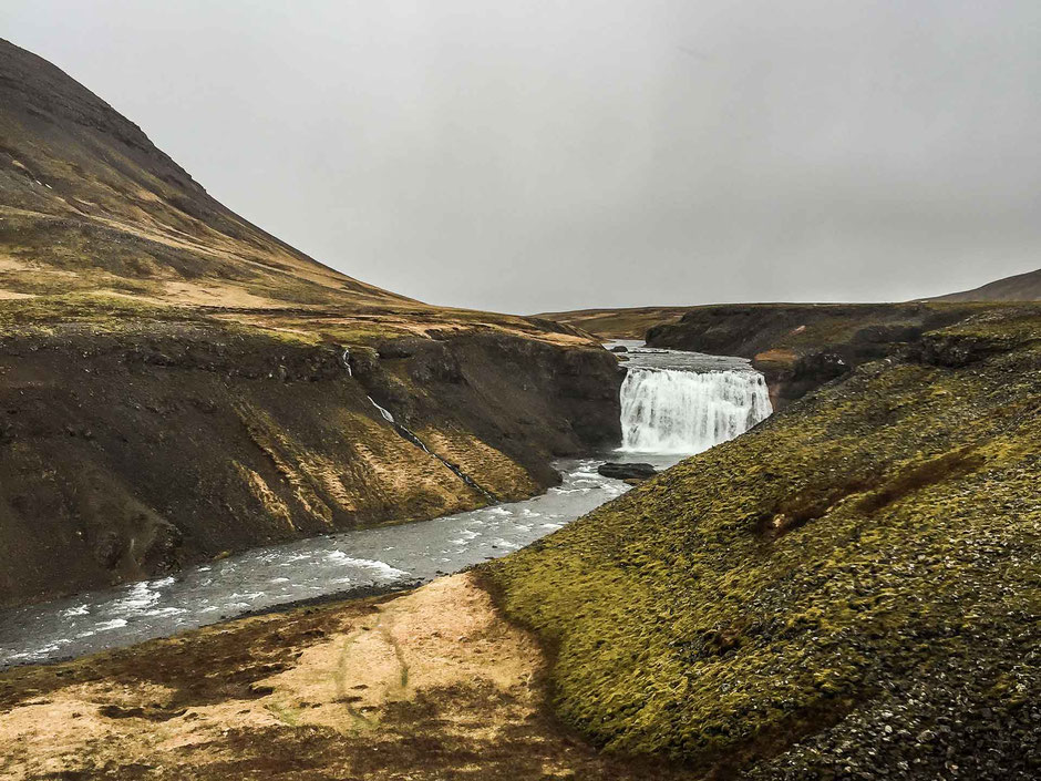 Porufoss waterfall in Iceland's Golden Circle