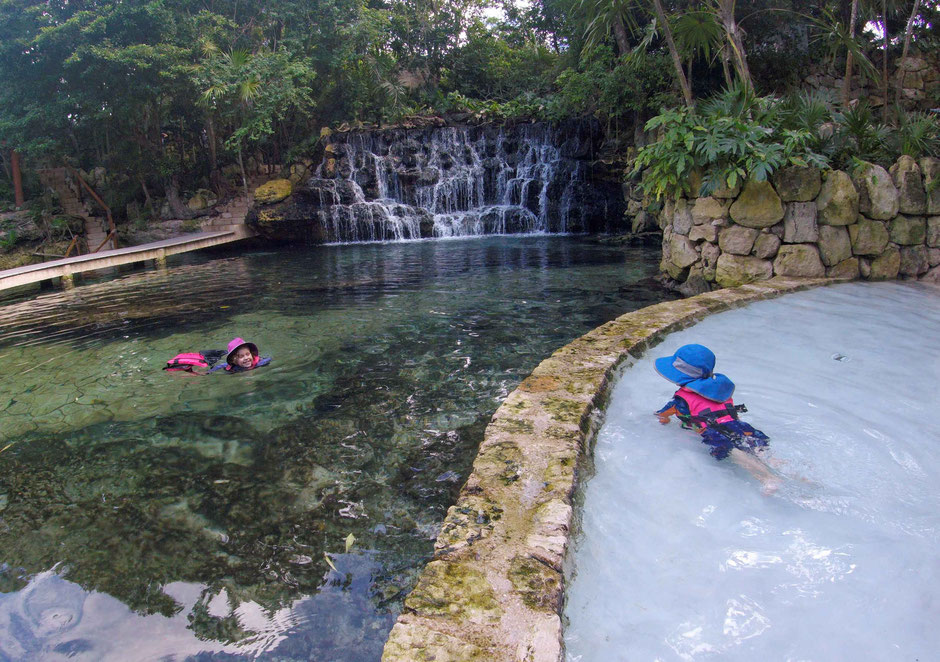 Xcaret with Toddlers - Children's World