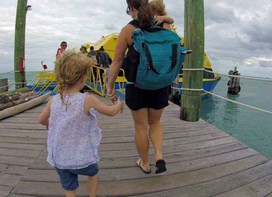 A Day of Exciting Family Fun on Isla Mujeres - Ferry Ride