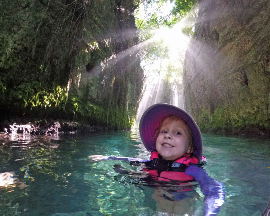 Xcaret with Toddlers - Underground River