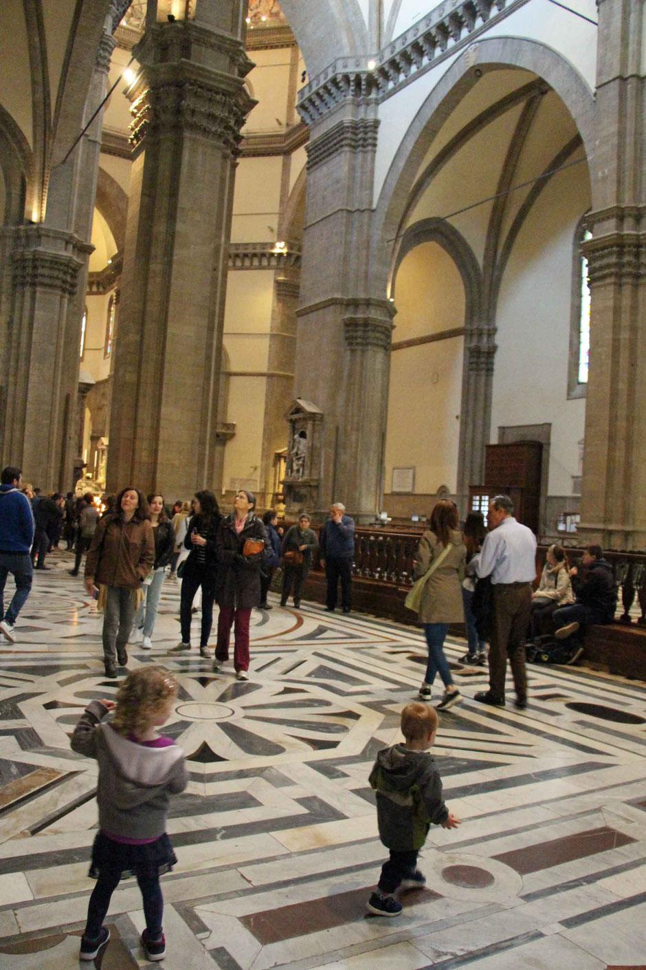 Cattedrale di Santa Maria del Fiore Florence Italy With Children