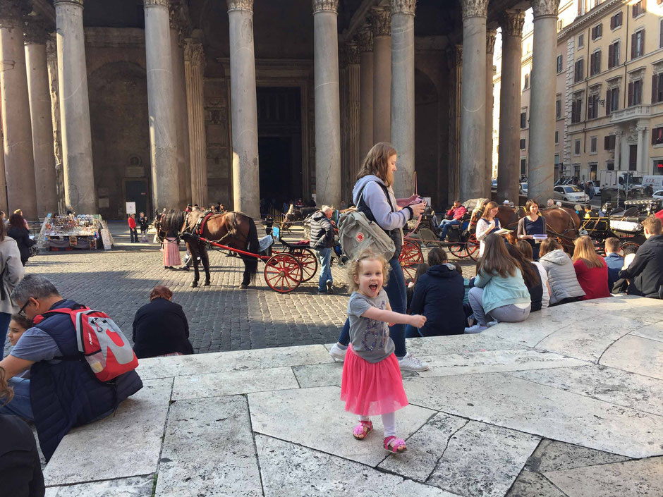 Pantheon Rome Family Travel