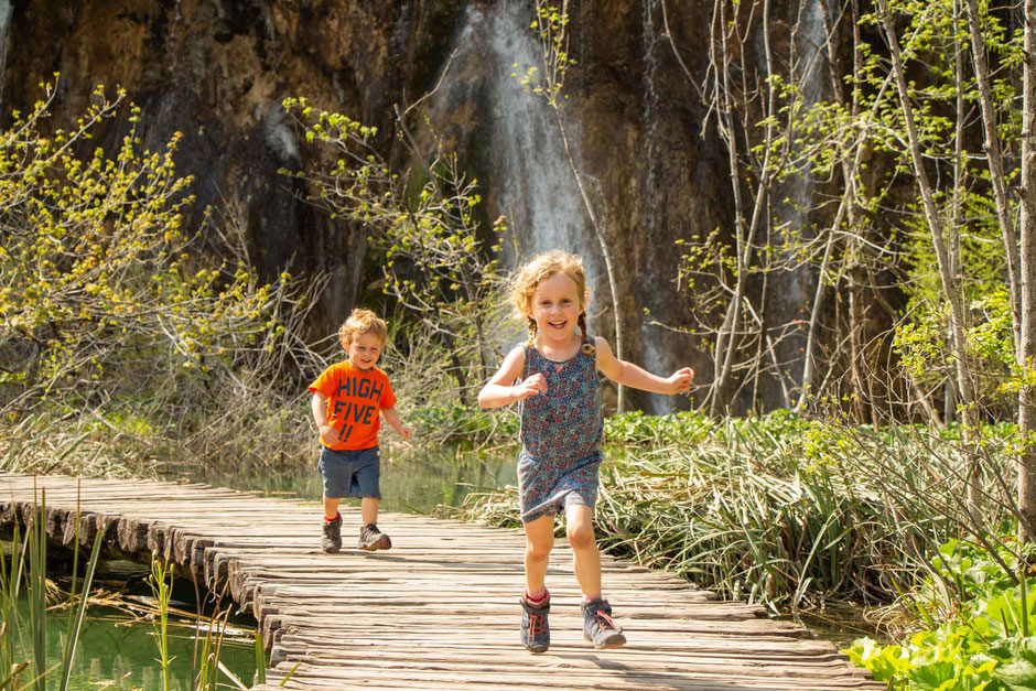Plitvice Lakes Croatia with Small Kids