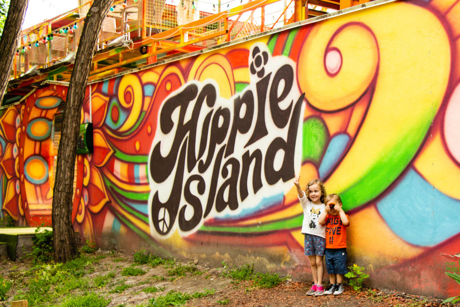 Things to do with kids on Margaret Island Budapest