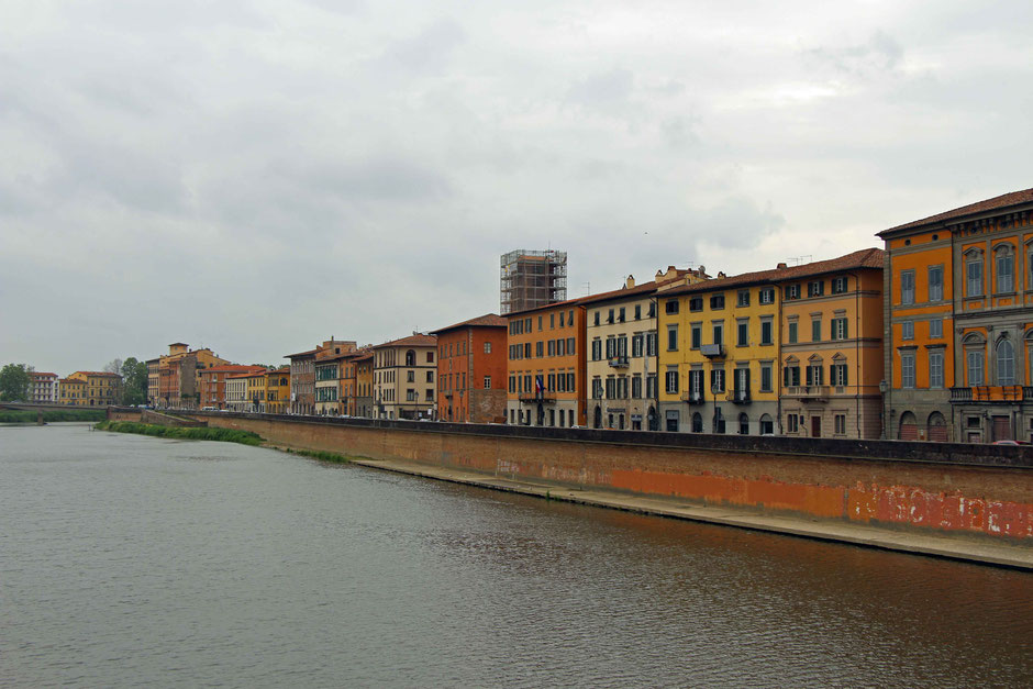 Arno River Pisa Italy