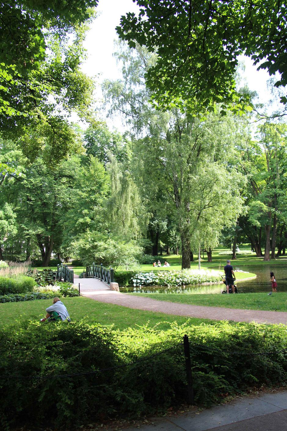 Slottsparken Oslo Norway
