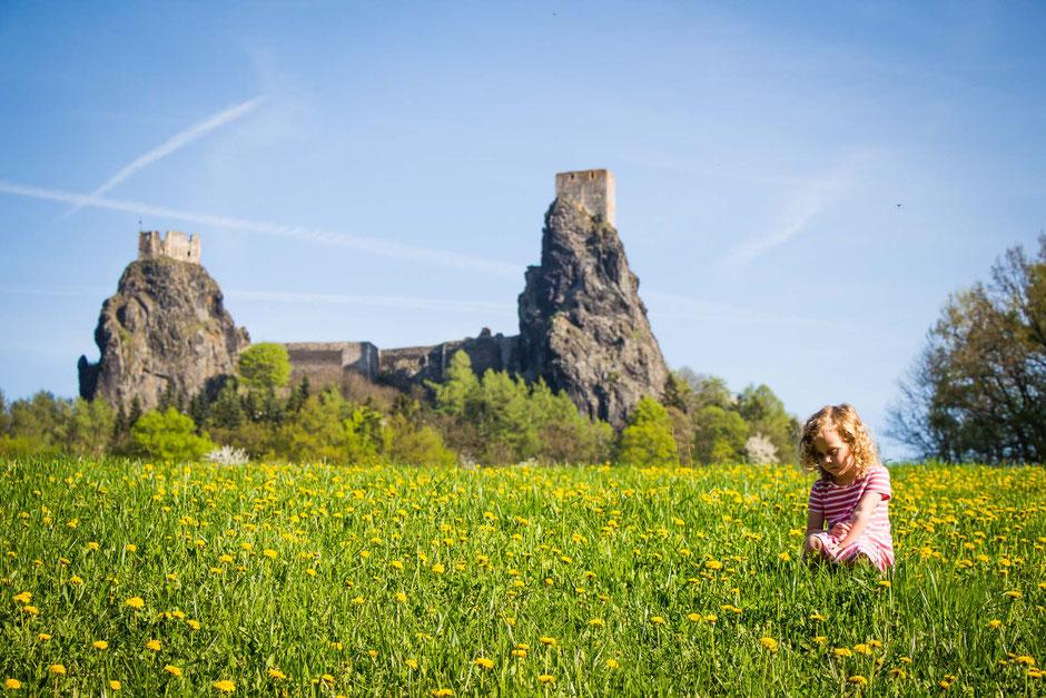 Trosky Castle Czech Republic with Kids