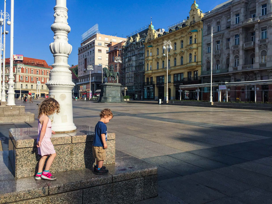 Zagreb Croatia with kids