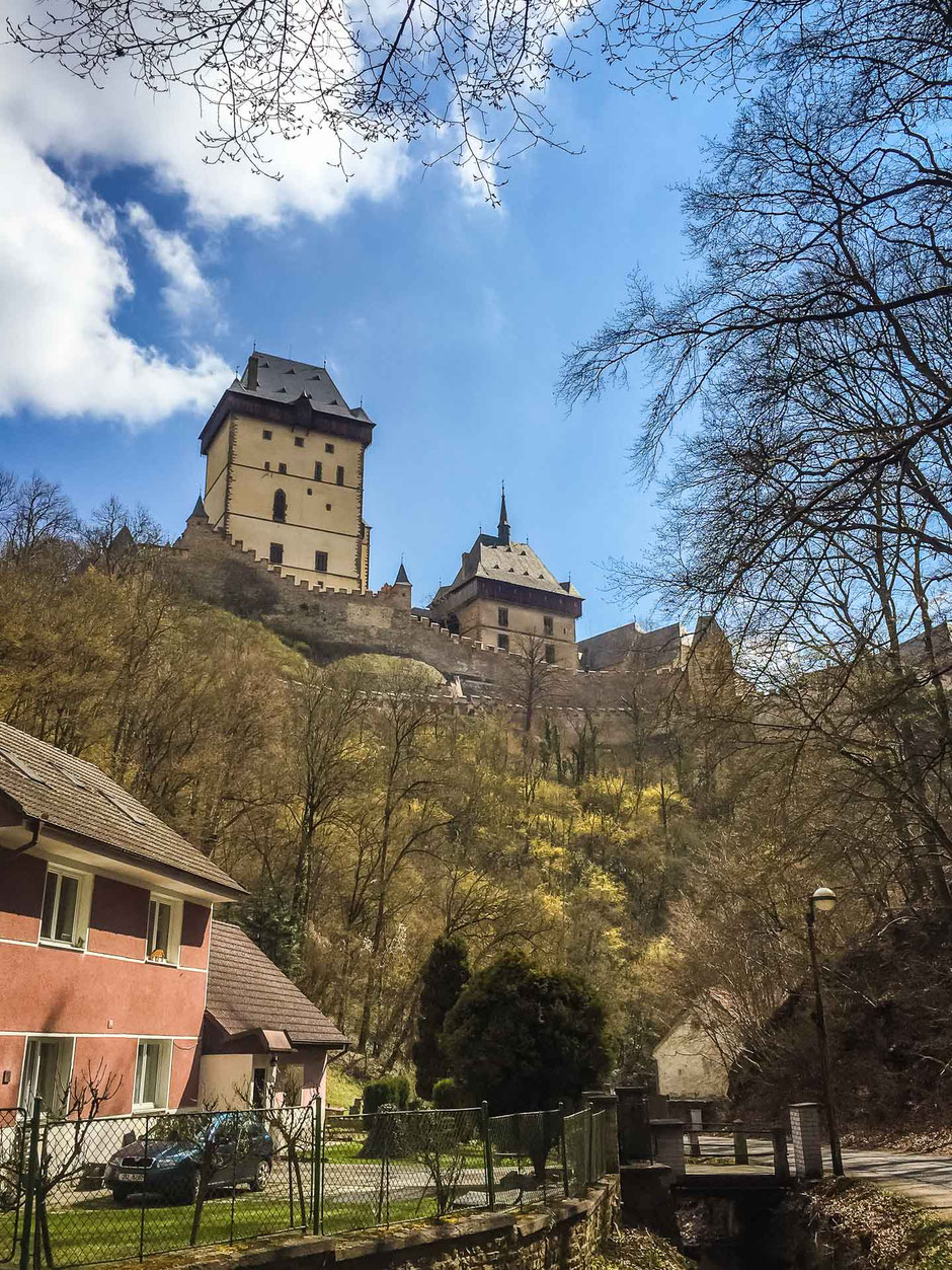 Day trip from Prague to Karlstejn Castle