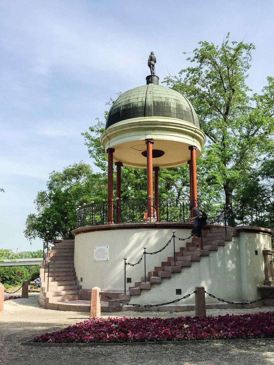 Musical Fountain Margaret Island Budapest with children