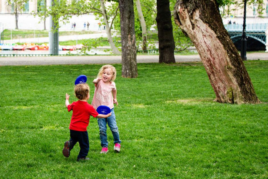City Park Budapest with Kids