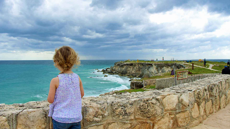 A Day of Exciting Family Fun on Isla Mujeres - Enjoying the Views from Punta Sur