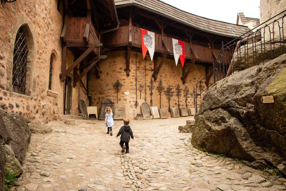 Castle in Loket Czech Republic with Kids