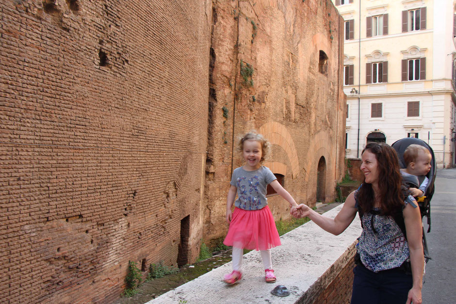 Pantheon Rome With Toddlers