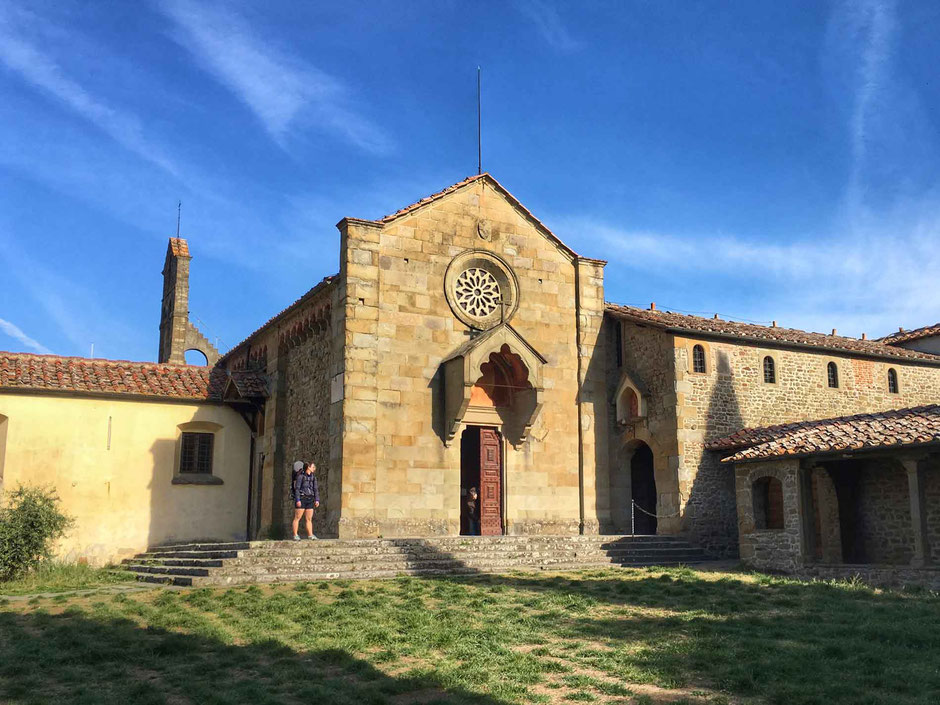Chiesa e Convento di San Francesco Fiesole Italy With Kids