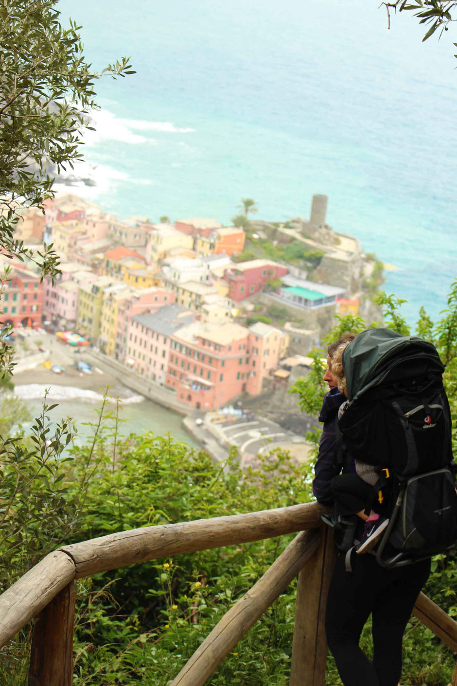 How to Hike Cinque Terre with Kids - Monterosso to Vernazza - Non-stop scenery