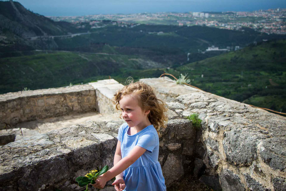 Visiting Klis Fortress in Split Croatia with Kids