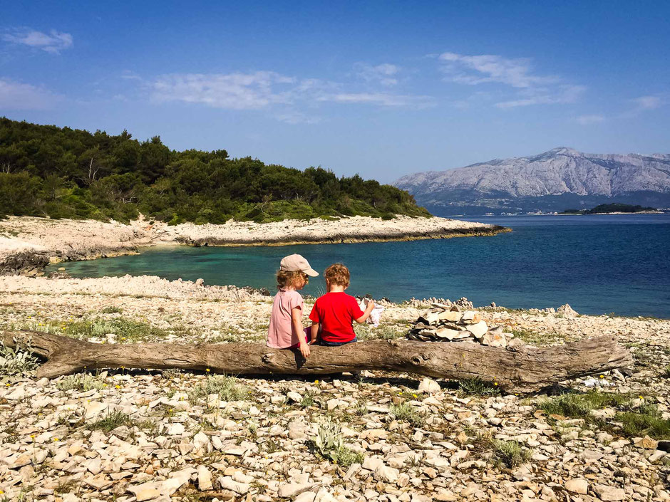 Peninsula Raznjic on Korcula Croatia with Kids