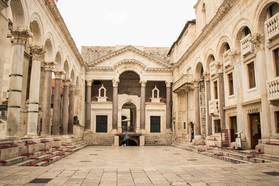 Diocletian's Palace Split Croatia with kids
