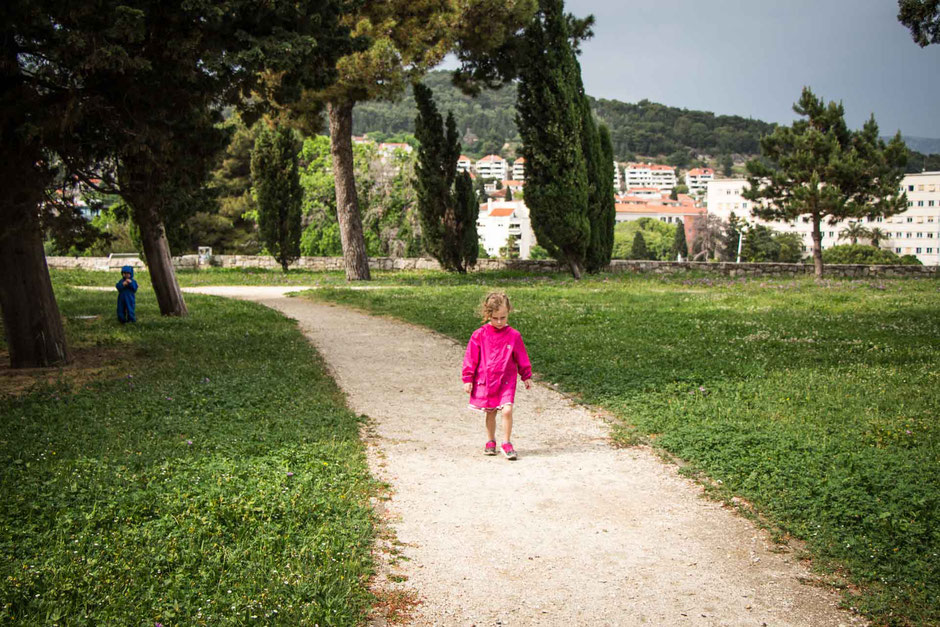 Sustipan Park Split Croatia with kids
