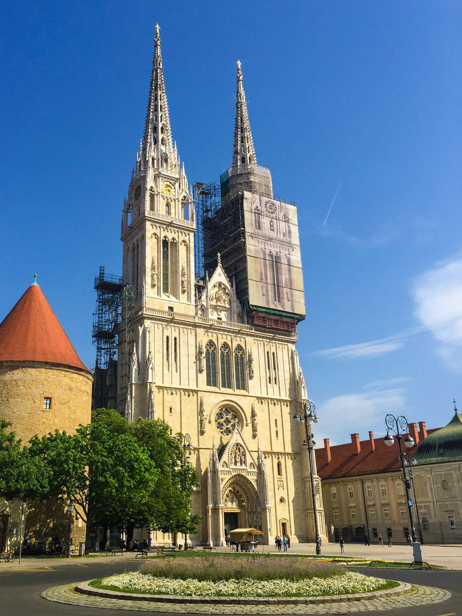 Cathedral of the Assumption of the Blessed Virgin Mary Zagreb Croatia