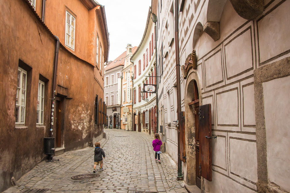 Old Town Cesky Krumlov with Kids