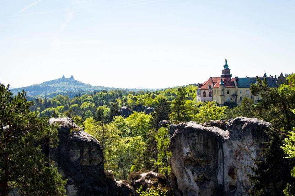 Valdstejn Castle  in Bohemian Paradise Czech Republic