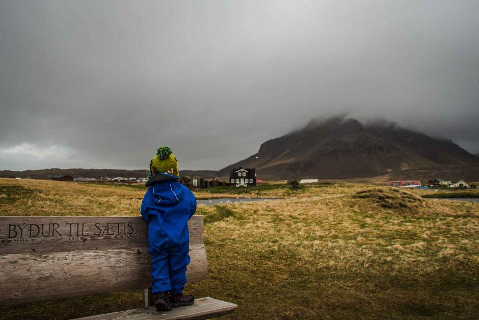 Views along the hike Arnarstapi to Hellnar Snaefellsnes Peninsula Iceland
