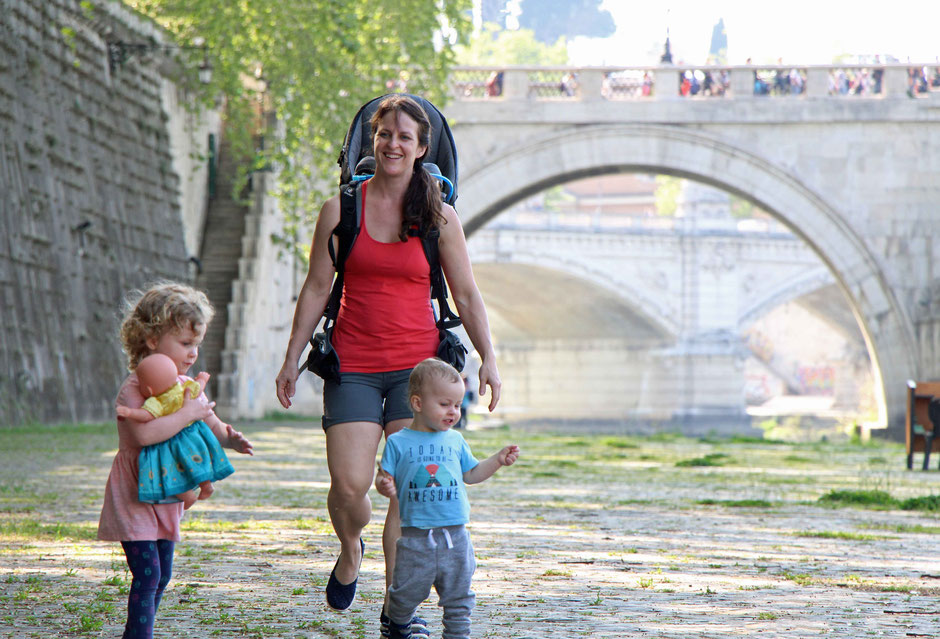12 Reasons Why Europe Is the Best Place to Travel with Your Kids - A Family Walk in Rome