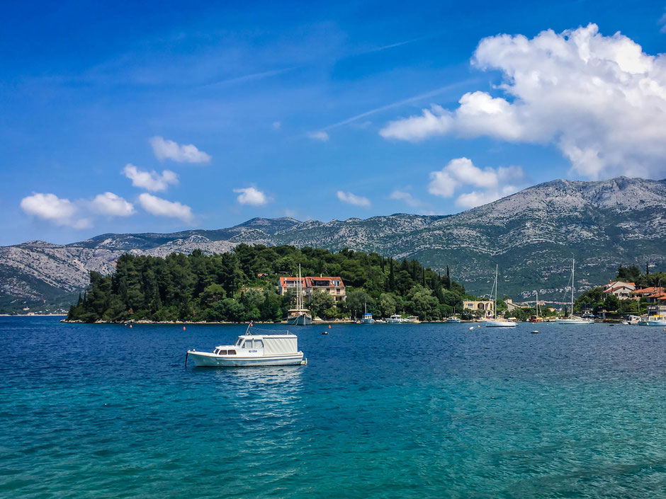View on Korcula Island, Croatia