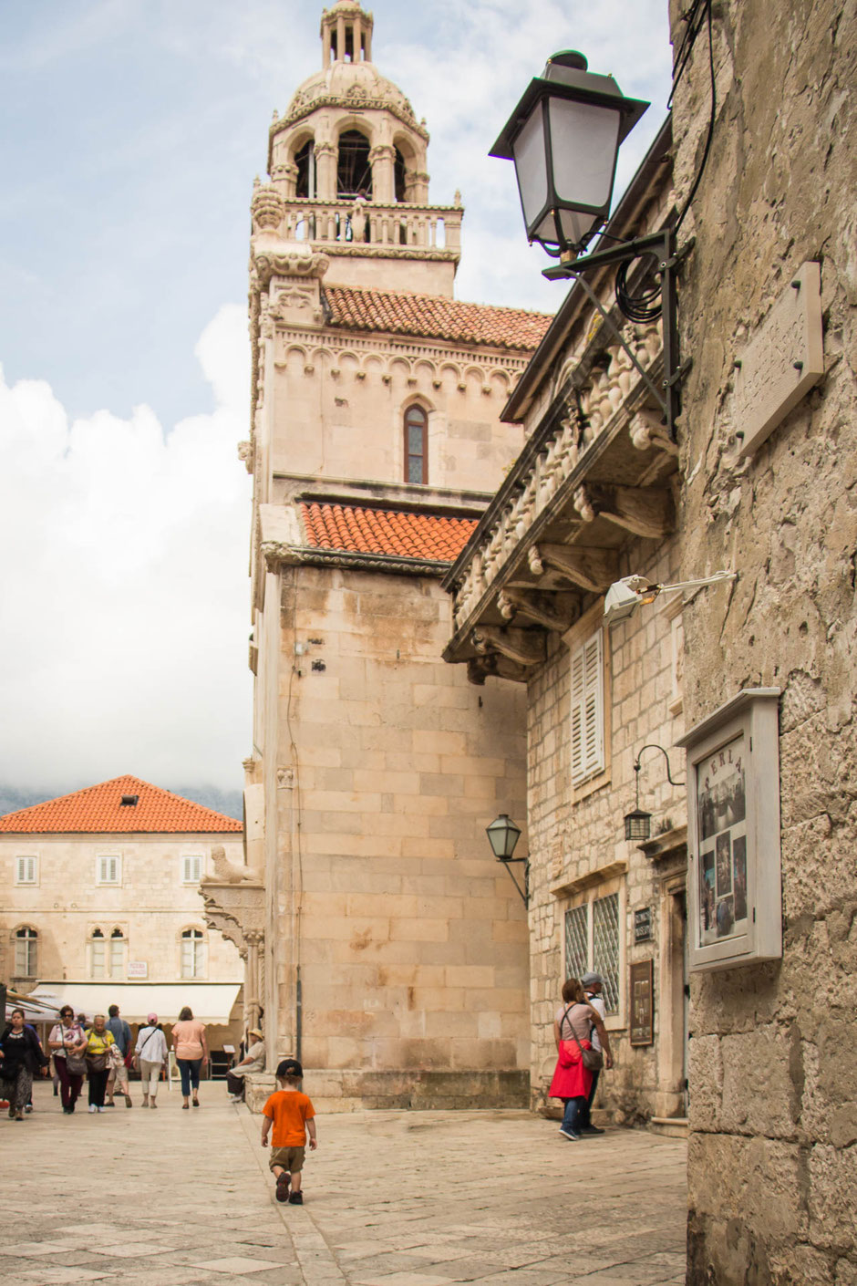 Old Town Korcula with Kids