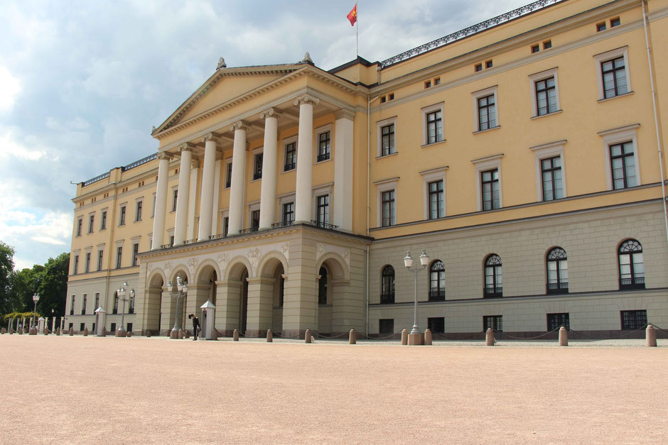 Royal Palace Oslo Norway