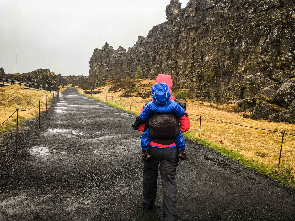 Thingvellir National Park Golden Circle Iceland with Kids