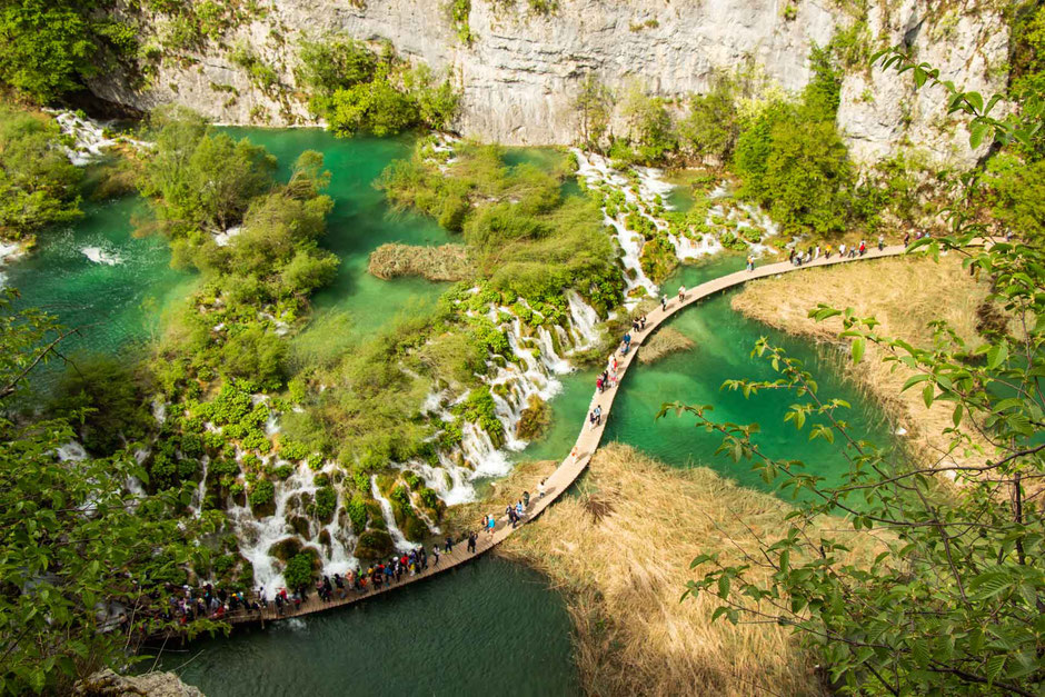 Plitvice Lakes Croatia with kids