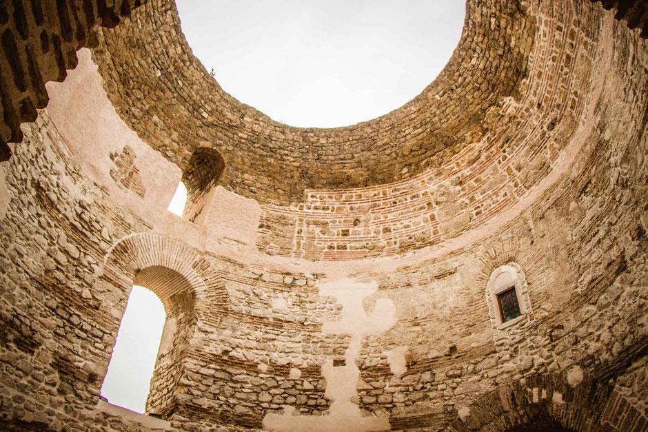 Vestibule in Split Croatia