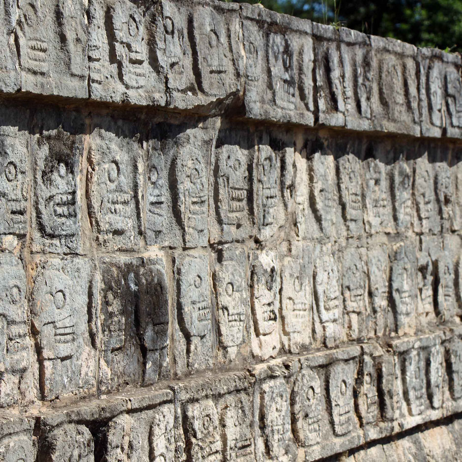 How to Easily Visit the Best Mayan Ruins - Carvings at Chichen Itza