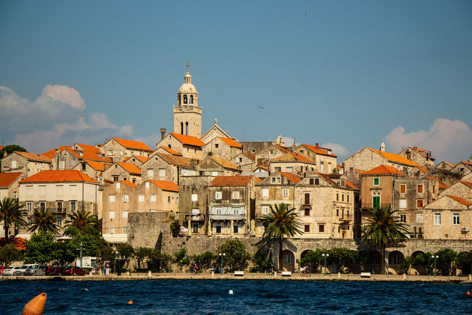 View of Korcula, Croatia