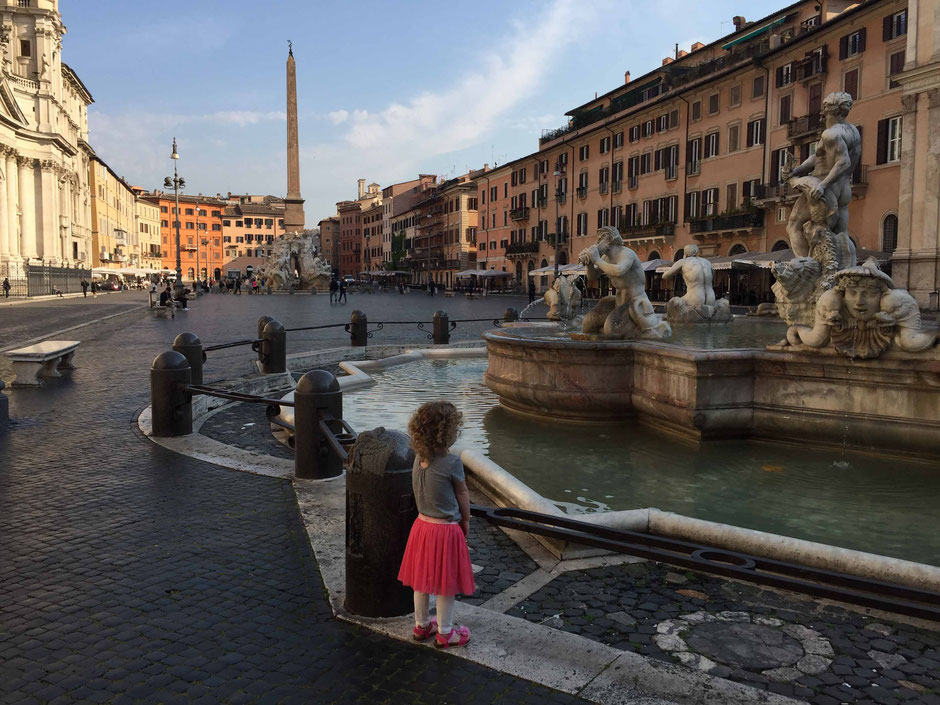 Piazza Navona Rome Family Travel