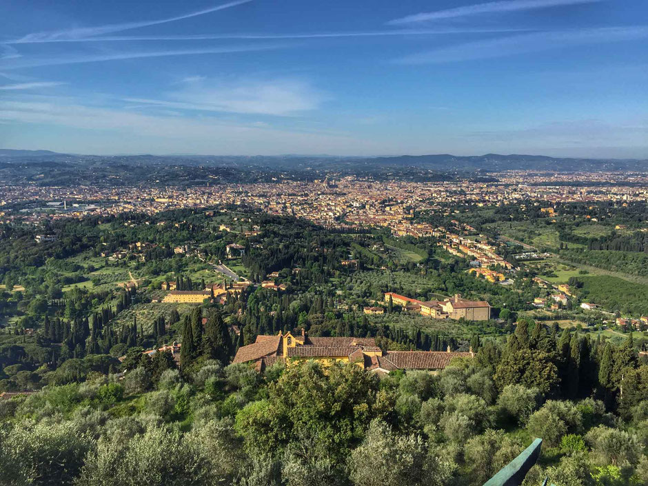 View of Florence Italy from Fiesole