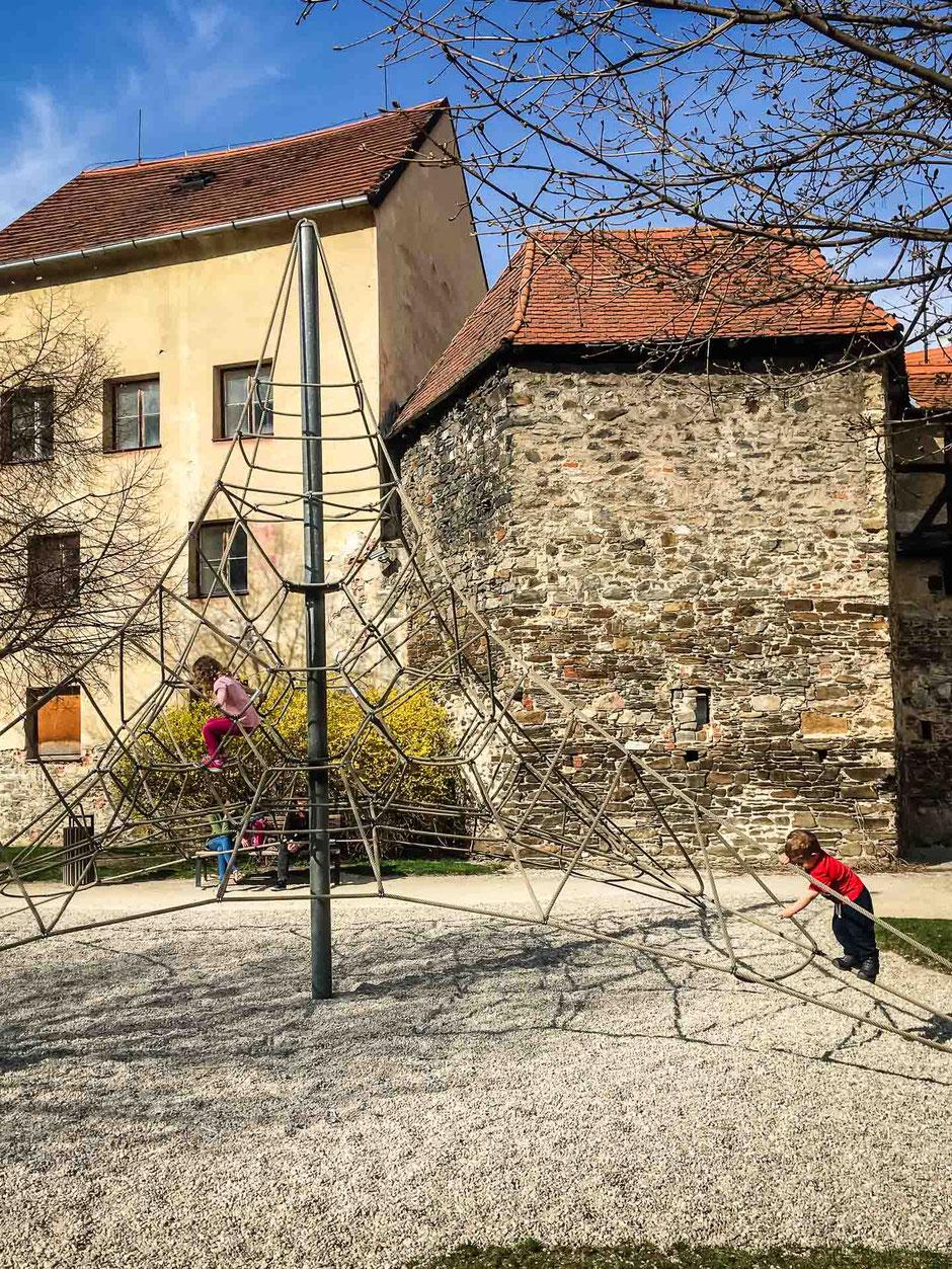 Cesky Krumlov playground