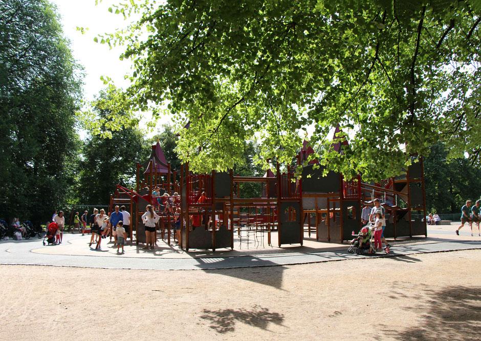 Frognerparken playground Oslo Norway