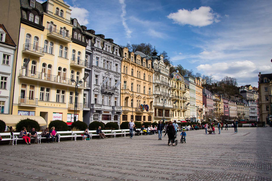 Karlovy Vary Czech Republic with children