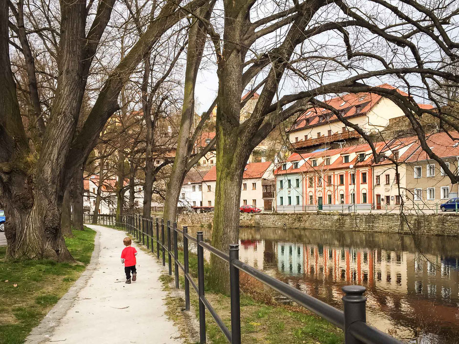 Cesky Krumlov River Walk