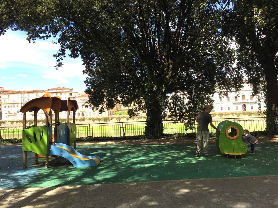 Playground in Florence Italy